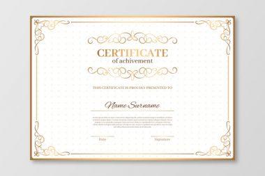 Zelfgemaakt certificaat